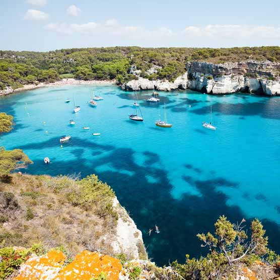 Where's Hot In March? Menorca - Teletext Holidays